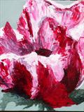 raspberry ripple by fiona drummond, Painting, Oil on canvas